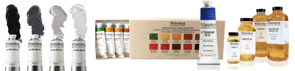 Williamsburg handemade oil colors